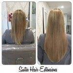 White hair in the Best Salon