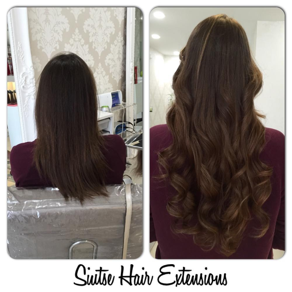 from short to long hair extensions miami